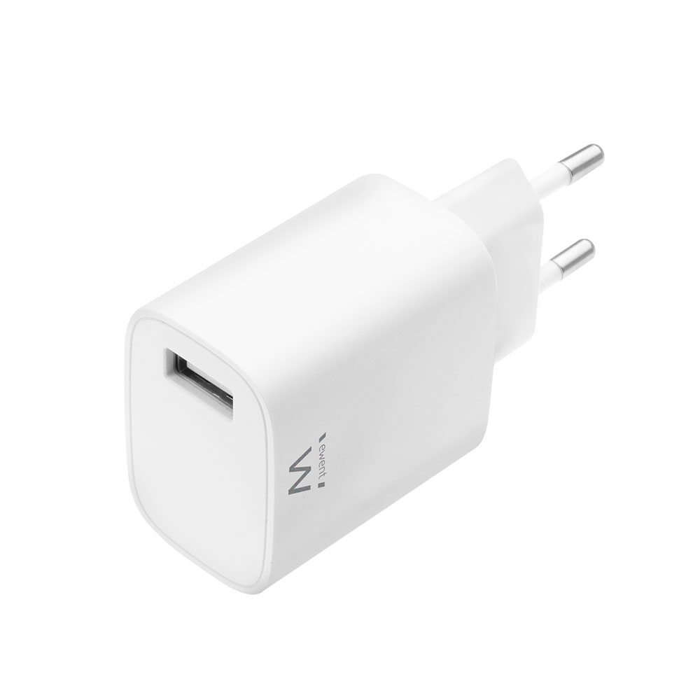 Compact USB Charger 2.4A 12Watt for faster charging