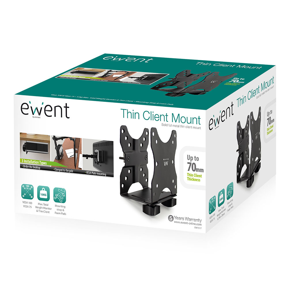 Thin Client Computer Mount