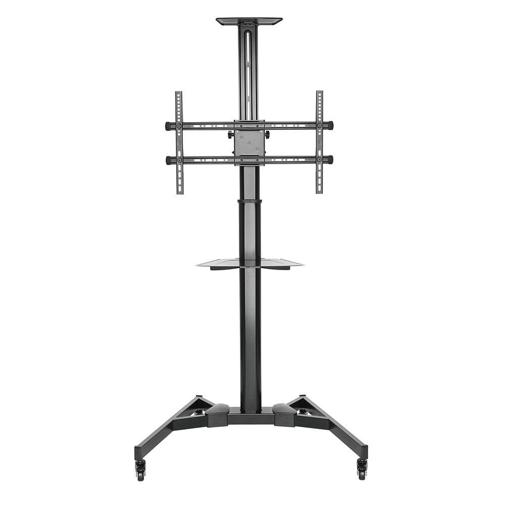 Mobile floor stand for TVs from 37 up to 70 inch