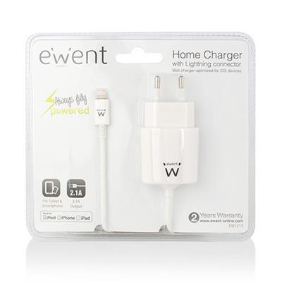 Home charger 2.1A with Lightning connector