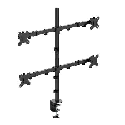 Desk Mount for 4 monitors up to 32 inch with VESA