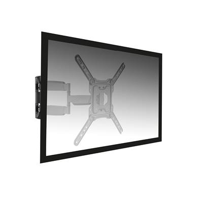 Easy Turn TV Wall Mount L with 3 pivot points