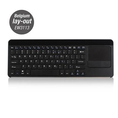 Smart TV Wireless Keyboard with Touchpad BE Layout