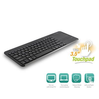 Smart TV Wireless Keyboard with Touchpad HU Layout