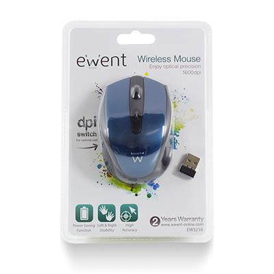 Wireless optical Mouse with DPI switch