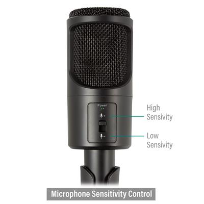 Microphone multimédia à réduction de bruit