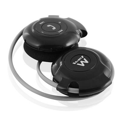 Bluetooth headset with radio FM and SD card slot