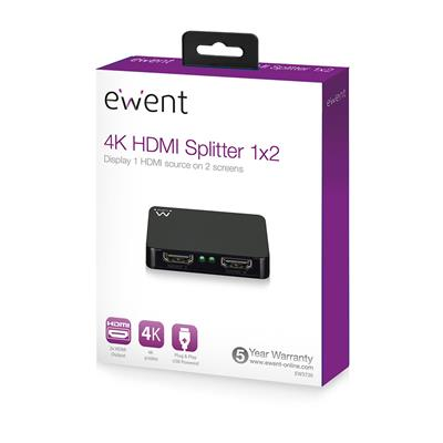 4K-HDMI-Splitter 1 × 2