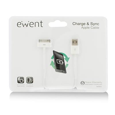 Ewent Charge & sync apple cable