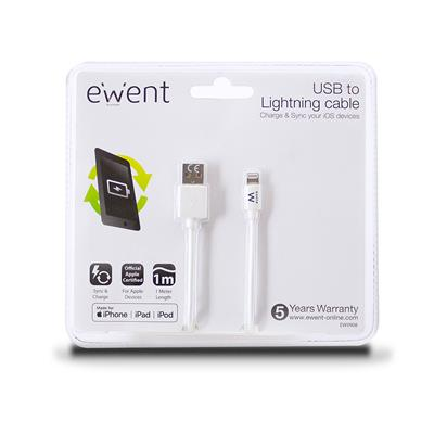 USB to Lightning cable 1 meter